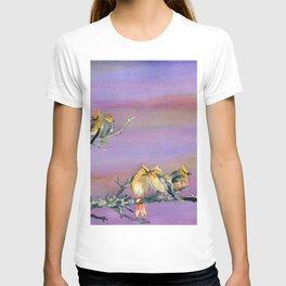 Bohemian Waxwings Birds T-shirt