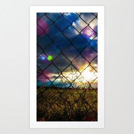 Links 5 Art Print
