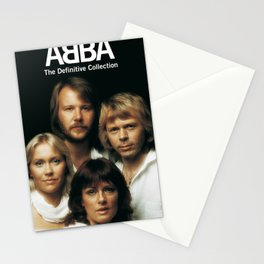 ABBA THE DEFINITIVE COLLECTION TOUR DATES 2019 BAKPAU Stationery Cards