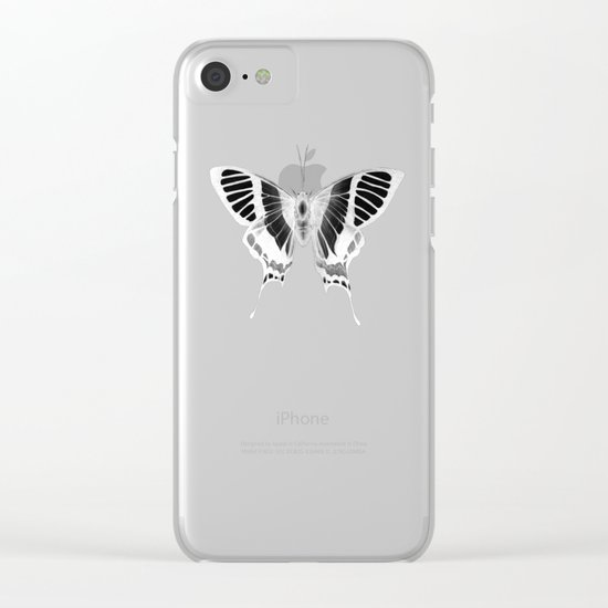 Butterfly's Ghost Clear iPhone Case