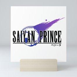 Saiyan Prince Fantasy Mini Art Print