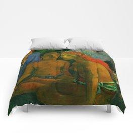 "Paul Gauguin ""Barbarian Tales (Contes barbares)"" Comforters"
