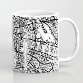 Tianjin Map Gray Coffee Mug
