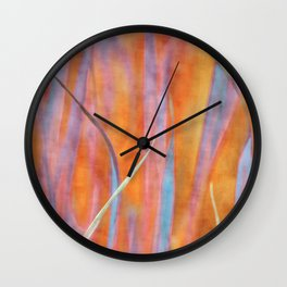 Living colours ~ Abstract  Wall Clock