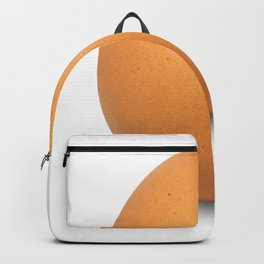 Chicken Egg , the brown eggs Artistic inspiration Backpack