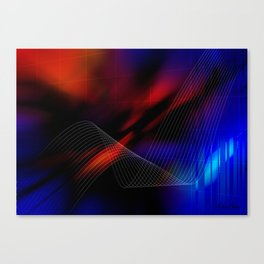 Grid of Light Canvas Print