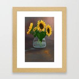Happy Birthday, Vincent! Framed Art Print