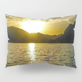 Sunset view in Muscat Oman Pillow Sham