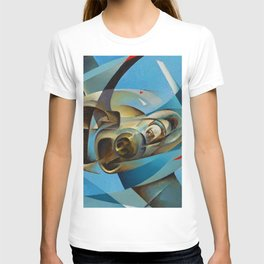 Monoplane in Flight by T. Crali T-shirt