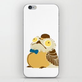 A Fancy Potoo iPhone Skin