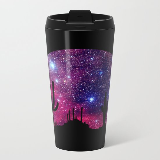 Noche caliente Metal Travel Mug