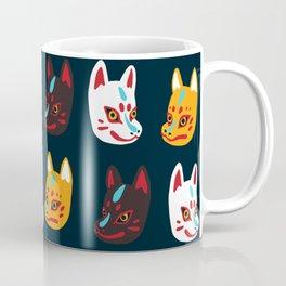 Kitsune Masks Coffee Mug