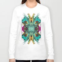 elf Long Sleeve T-shirts featuring Woodland Elf by North 10 Creations