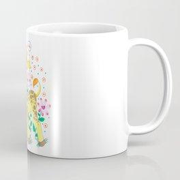 Giraffe Nursery Illustration Coffee Mug