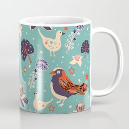 Babyblue Forest Coffee Mug