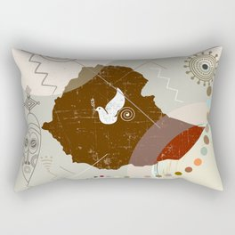 Ethiopia Soaring Rectangular Pillow