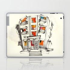 Japanese building Laptop & iPad Skin