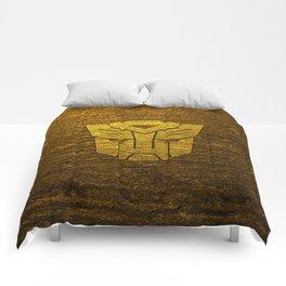 Autobot logo Comforters