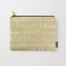 Narnia Celebration- oat Carry-All Pouch