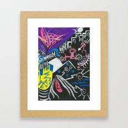 Abstract 36 Framed Art Print