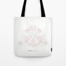 Hungarian Embroidery no.14 Tote Bag