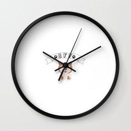 My Akita BFF Dog Best Friend Forever Cute Gift Idea Wall Clock
