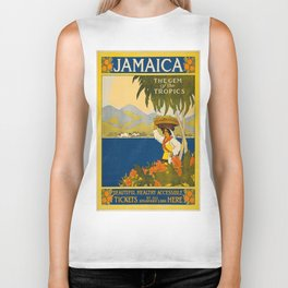 Vintage poster - Jamaica Biker Tank