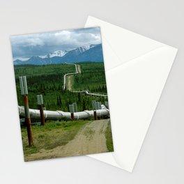 Alaska Pipeline Stationery Cards