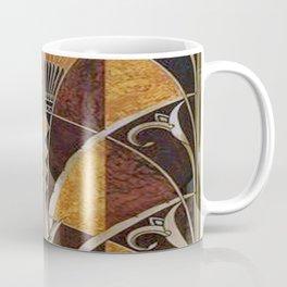 Art nouveau,Original wood work, elevator door, NYC Building Coffee Mug