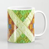 arab Mugs featuring arab stained glass by tony tudor