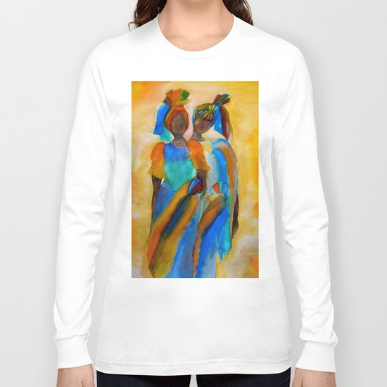 African costumes Long Sleeve T-shirt