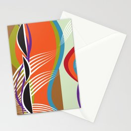 Shapley Waves Stationery Cards