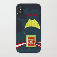 buzz lightyear iPhone & iPod Cases featuring The Tomorrowland Series: Buzz Lightyear Astro Blasters by The Disneyland Minimalist
