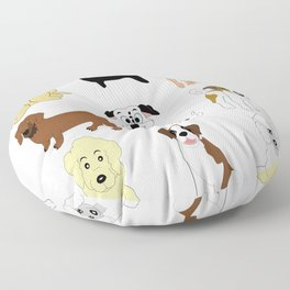 Pet dogs design Floor Pillow