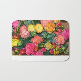 Annas Flowers IV Bath Mat