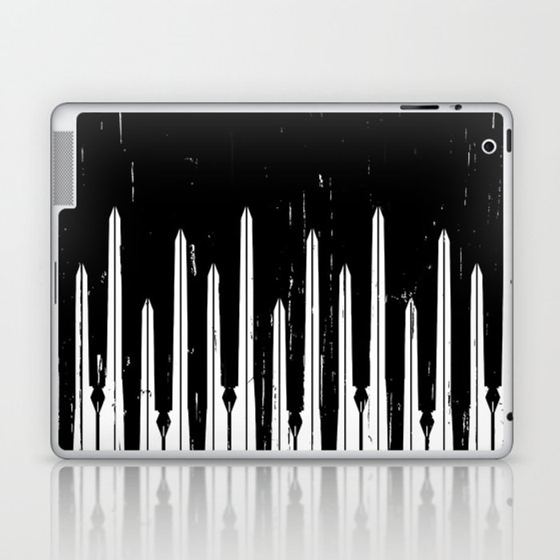 Might Makes Right Laptop & iPad Skin
