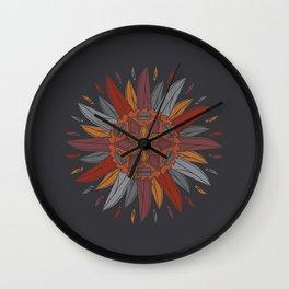 Cutting Edges Wall Clock