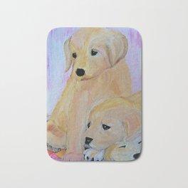 Labrador puppies Bath Mat