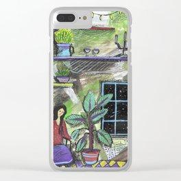 vintagehouse Clear iPhone Case