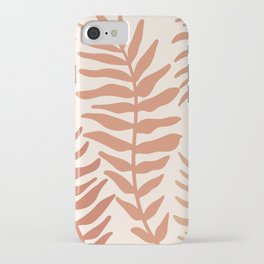 Modern Leaves iPhone Case