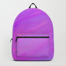 A Delightful Mix - Purple/Blue/Pink Backpack