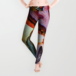 Agate, the Layers of our Earth Leggings