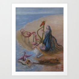 Magic in the Sand Art Print