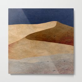 Desert Metal Print