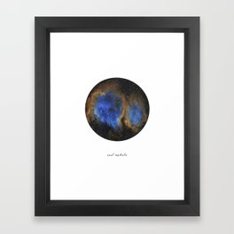 Soul Nebula Framed Art Print
