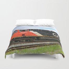 Canadian National Railway Duvet Cover