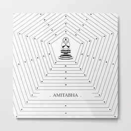 AMITABHA Metal Print