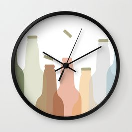 International Beer Day - Cheers for the World Wall Clock