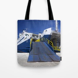 Ionian ferry Ramp Tote Bag