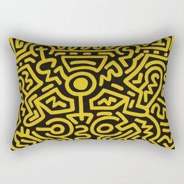 Humans Growing Rectangular Pillow